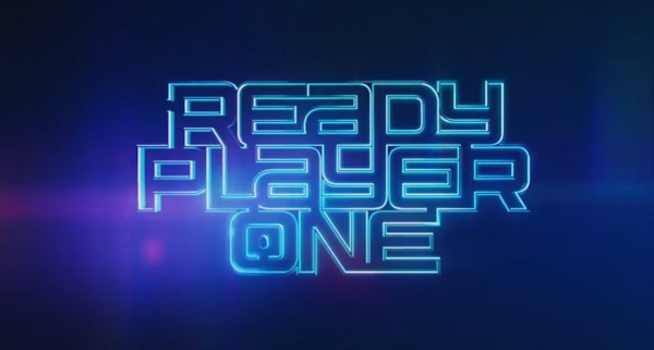 Film Ready Player One - logo filmu, réžia Steven Spielberg