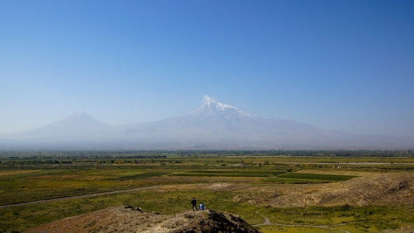 Arménsko a ararat hora