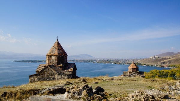 Arménsko a jazero Sevan