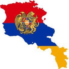 Arménsko mapa