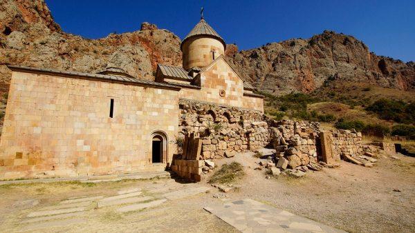 Arménsko a kláštor Noravank