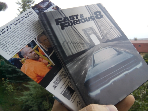 Fast and Furious 8 Rýchlo a zbesilo 8 steel book