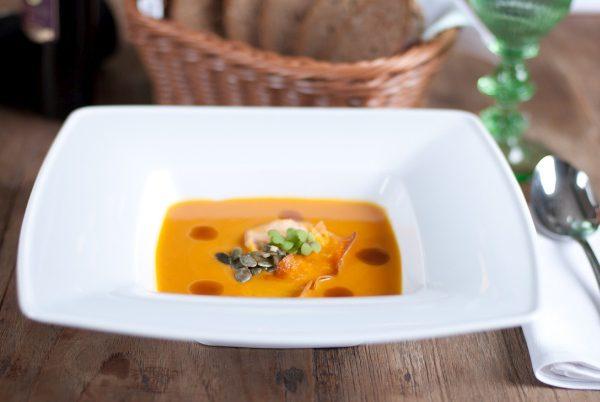 tekvicová polievka recept