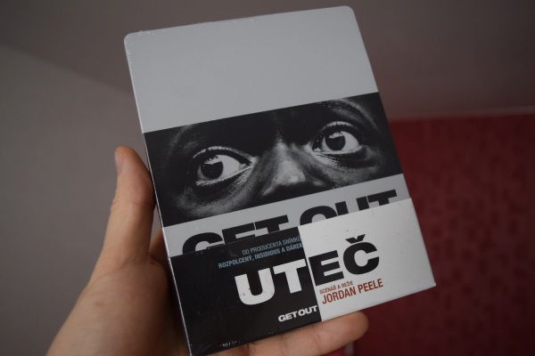 Uteč Get out steelbook DVD bluray