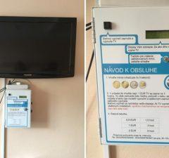 Televízor nemocnica za poplatok