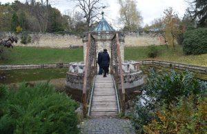 Most lásky pri Rotunde, zámok Bojnice