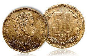 50 PESO mince 2008