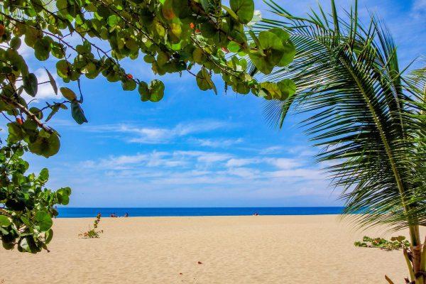 Ostrov Barbados a pláž