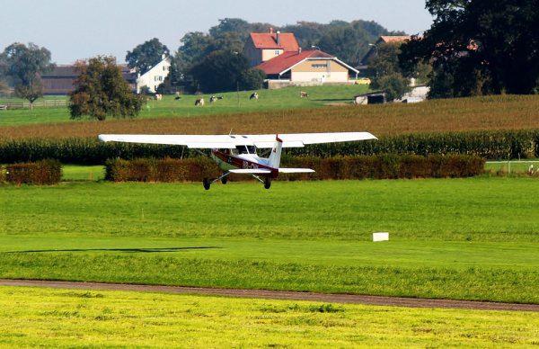 Cessna a let lietadlom