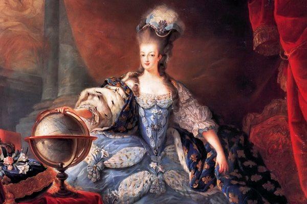 Mária Antoinetta šachtičná, popravená vo Francúzsku