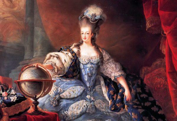Mária Antoinetta šľachtičná, popravená vo Francúzsku