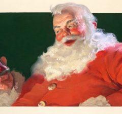 Santa Claus a Coca Cola