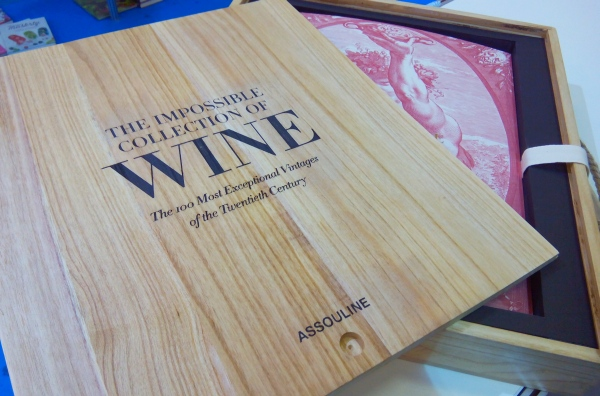 The impossible collection of wine, Assouline kniha o víne
