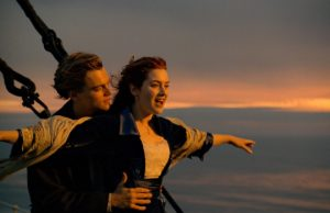 "Leonardo DiCaprio and Kate Winslet in ""Titanic."" (Paramount Pictures)"