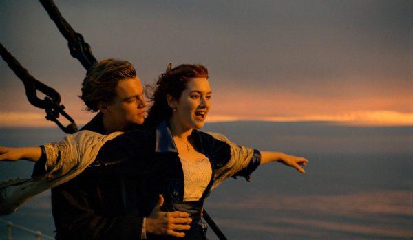 "Leonardo DiCaprio and Kate Winslet in ""Titanic."" (Paramount Pictures)"