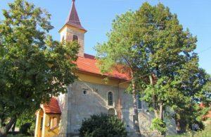 Obec Boldog, kostol, Barabas