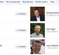Politici na Facebooku