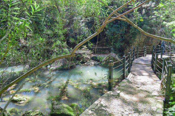 Turecko, národný park a vodopády Kursunlu