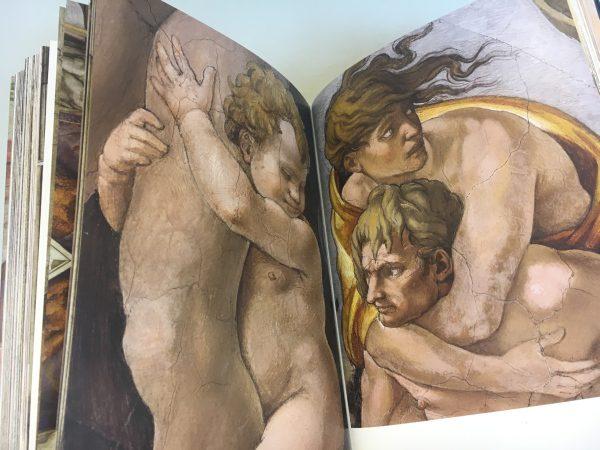 Sixtínska kaplnka a Michelangelo, kniha