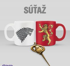 Súťaž s Game of Thrones