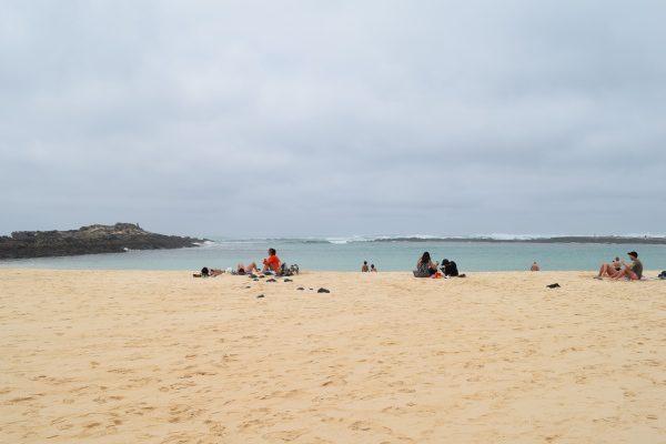 Fuerteventura, Kanárske ostrovy pláž