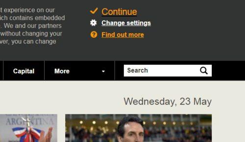 príklad na stránke BBC.com