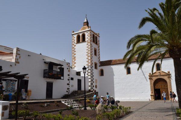 Mesto Betancuria na ostrove Fuerteventura, Kanárske ostrovy