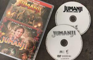 Jumanji film DVD kolekcia oboch filmov