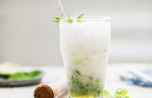 kokosový nápoj