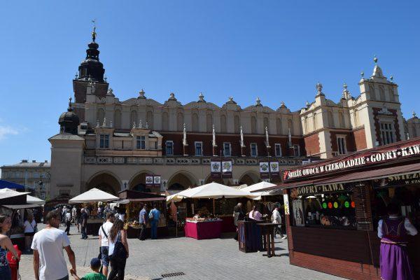 Krakow, Krakov a hlavné námestie