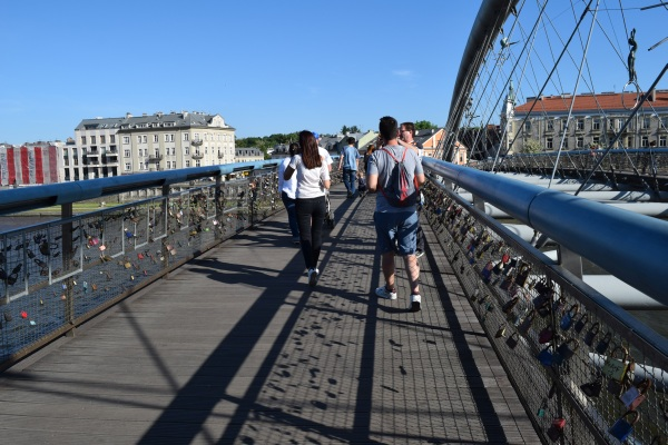 Most lasky, kladka Ojca, Krakow