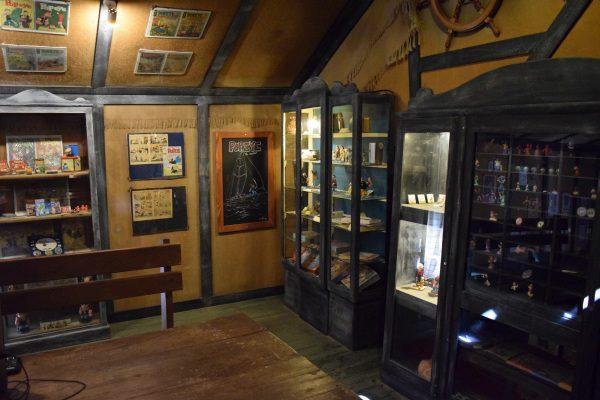 Pepek námorník, múzeum Pepka námorníka
