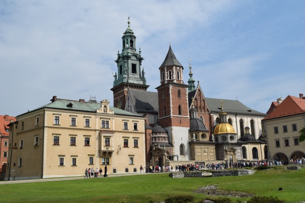Wawel v Krakowe