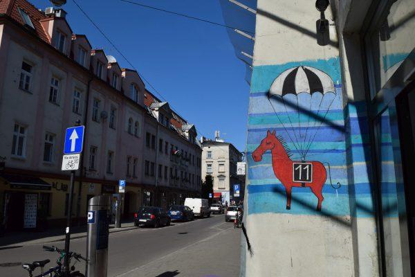 Street art, Ulicca Jozefa, Krakov