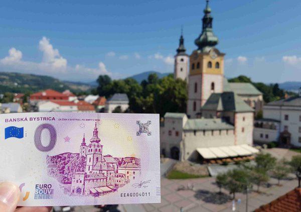 Banská Bystrica Barbakan 0 eur bankovka
