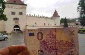Kežmarský hrad 0 eur bankovka