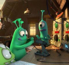 Luis a ufóni, animovaný film s dabingom