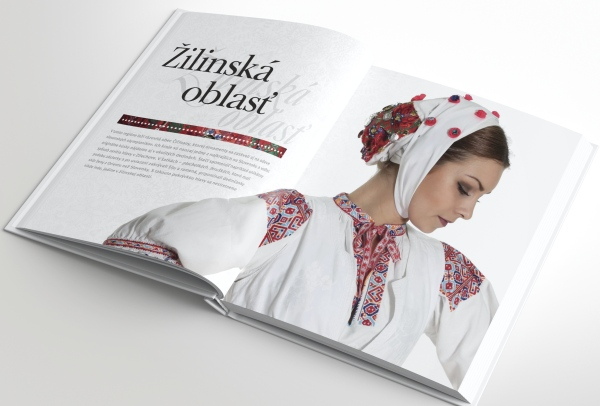 Odetí do krásy, kniha slovenské kroje