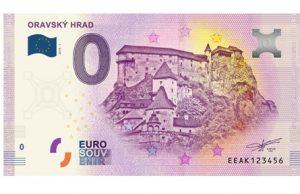 0 eur brankovka ORAVSKY HRAD