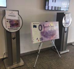 vypredané bankovky 0 EUR bratislavský hrad, Incheba