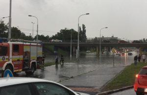 Záplavy Bratislava jun 2018