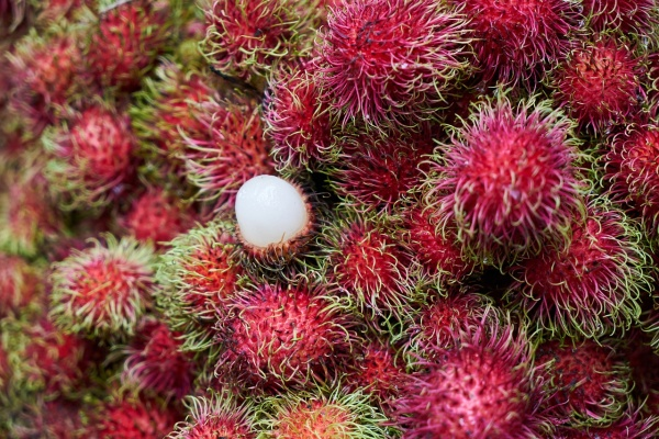 Ovocie rambutan