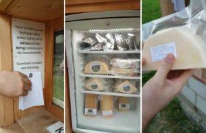 Syr automat švajčiarsko