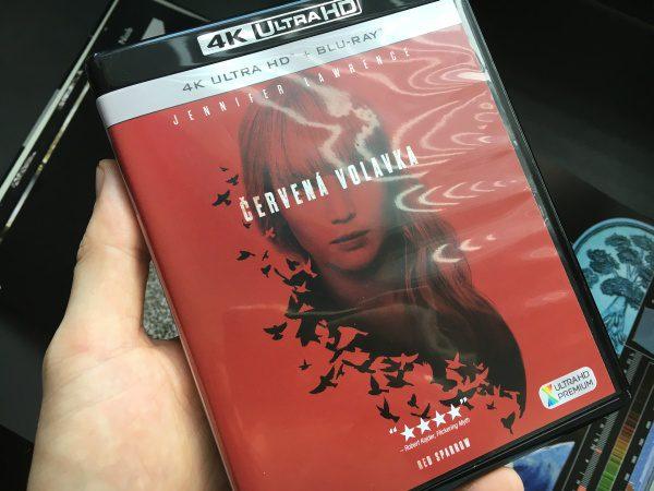 Červená volavka, DVD 4K blu Ray UHD