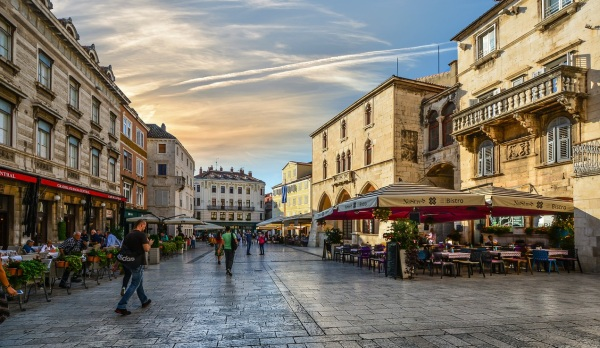 Dovolenky a Chorvátsko centrum mesta