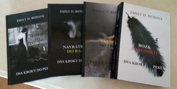 Dva kroky do pekla knižná séria