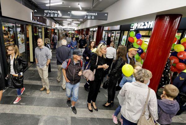 Trnavské mýto, Bratislava rekonštrukcia otvorenie 2018