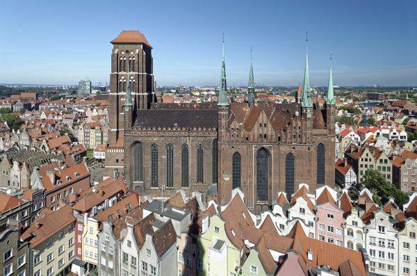 Gdansk Kostol Panny Márie