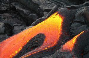 Sopka a láva Kilauvea