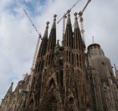 Sagrada Familia, Katalánsko, Španielsko (Antonio Gaudí)